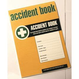 FREE accident report form download! First Rescue
